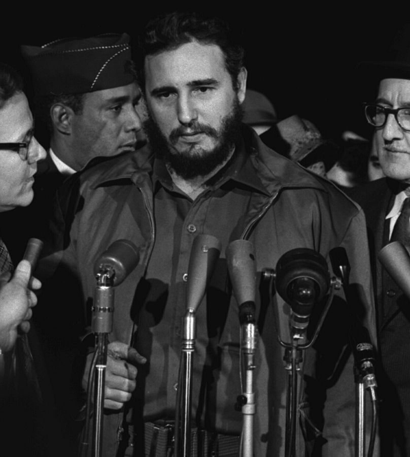 Fidel Castro i Washington 1959.