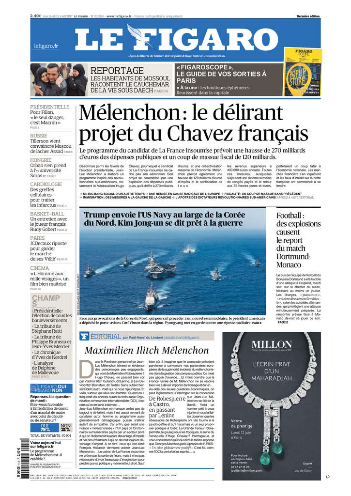 Le Figaro - Foto: screenshot