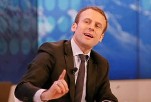 Emmanuel Macron World Economic Forum