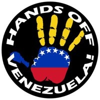 Hands off Venezuela logga. Bild: Hands off Venezuela